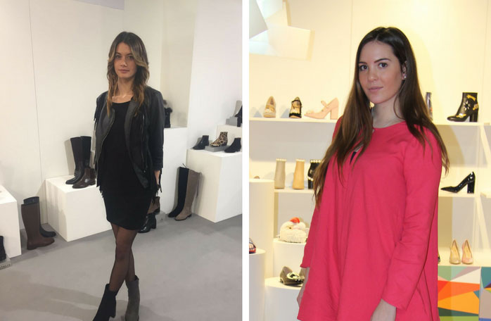 hostesses micam milan trade show