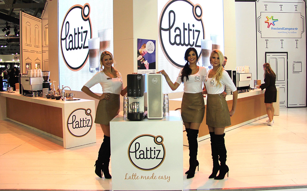 Exhibition Stand Hostess : Booth hostesses for lattiz at hostmilano exhibition bea
