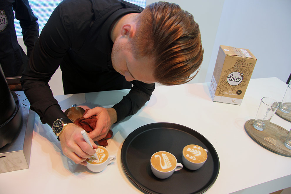 latte art barista fiera host milano