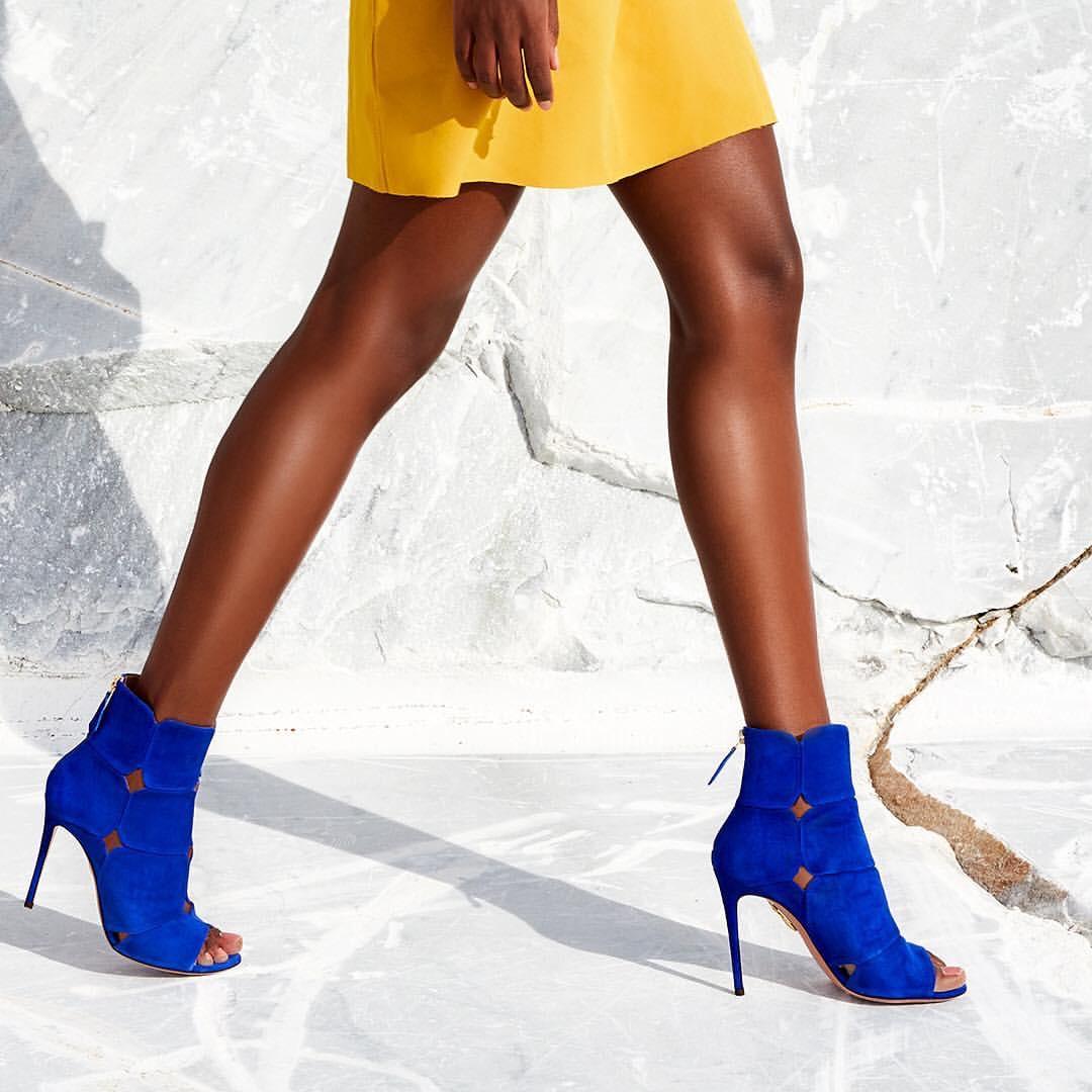 modella scarpe milano