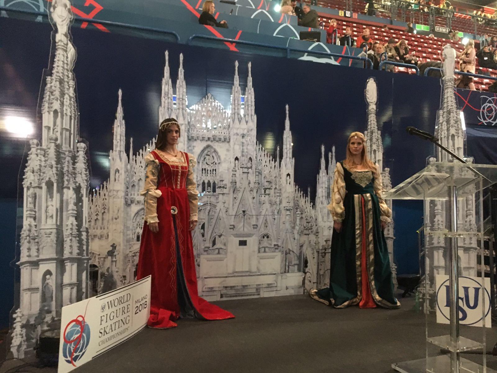modelle evento sportivo forum milano