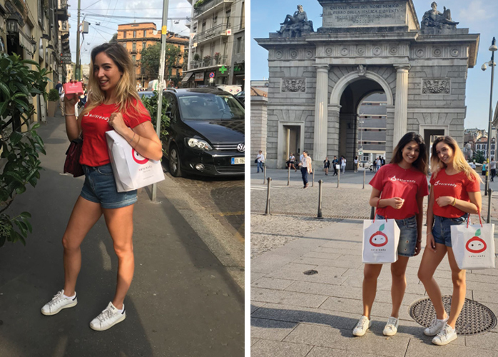 promo girls milan eatsready