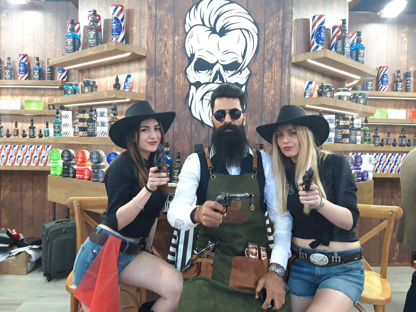 hostess bandidos cosmetics cosmoprof