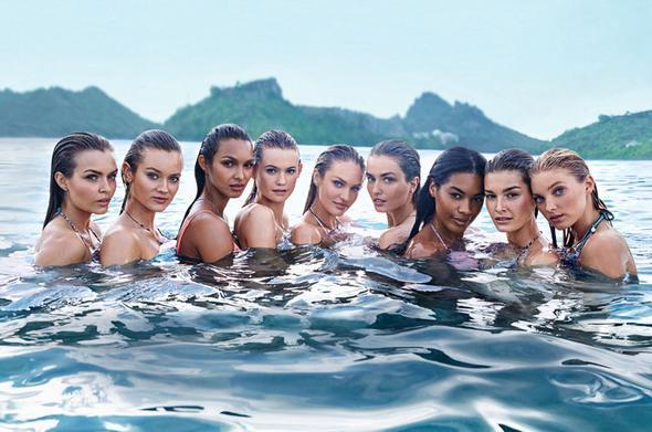 Le modelle di victoria 39 s secret per la prima volta in bikini bea models - Costumi da bagno prima classe ...