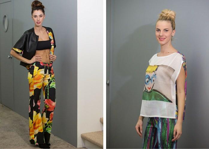 models trade show Milan