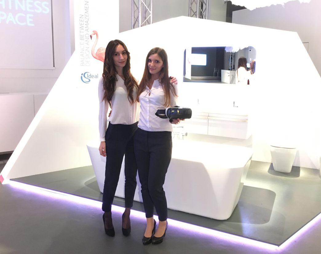 milan design week hostesses
