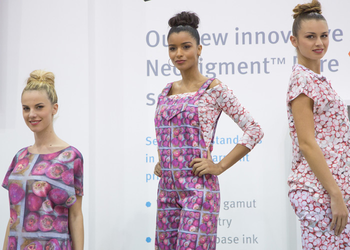 fashion show models trade show itma