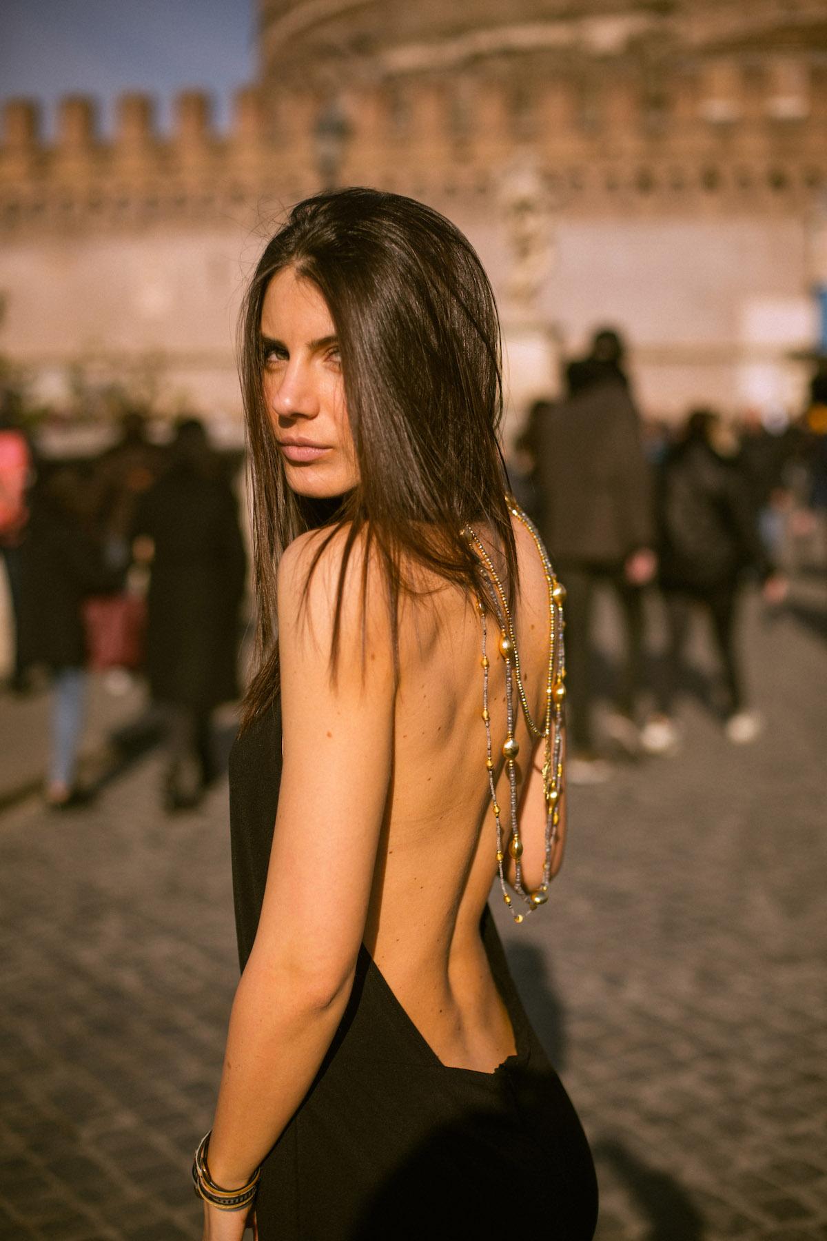 model shooting rome
