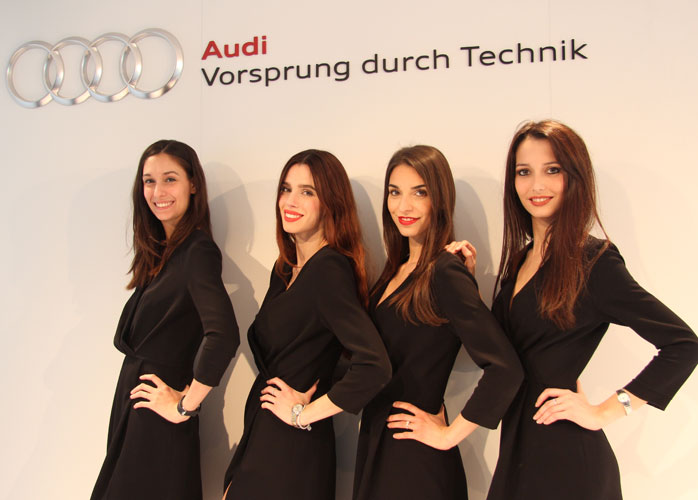models temporary store audi 2016