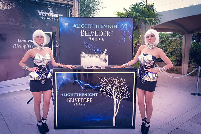 belvedere vodka event models