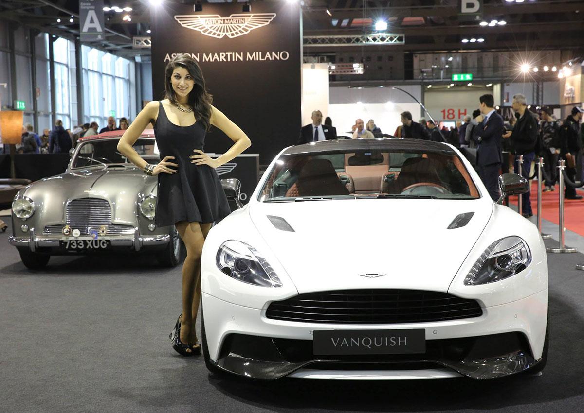 modella fiera autoclassica 2015 milano